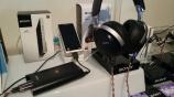 ハイレゾ対応フラッグシップヘッドホン MDR-Z7 視聴コーナーあります。