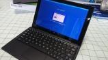 Xperia Z4 Tablet 展示開始!こりゃPCみたいです。
