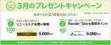 3月の My Sony ID プレゼントキャンペーンはコレ!