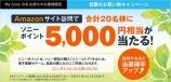 お買物キャンペーン Amazonサイトへ訪問して、5,000円相当のソニーポイントを当てよう!
