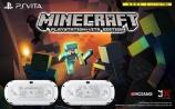 大人気のものづくりゲーム Minecraft(マインクラフト)とPlayStation Vitaのコラボモデルが登場!