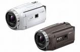 みんなで映像が見られるプロジェクター内蔵モデル HDR-PJ680 も発売です!
