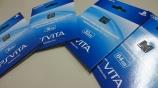 品薄が続いていたPS Vita用 メモリーカードがようやく入荷!