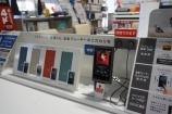 新商品のウォークマンAシリーズ&Sシリーズ展示始めました。
